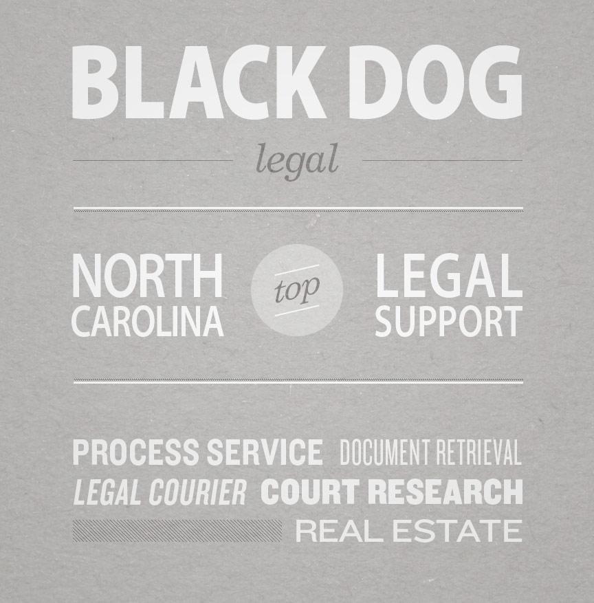 Black Dog Agency - North Carolina Process Servers, Document Retrieval & Court and Public Record Researchers